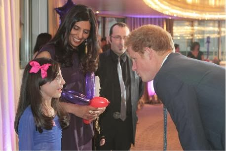 Enfield inspiration Nikki Christou met Prince Harry