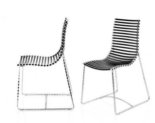 La web de la decoracion y el mueble en la red sillas for Sillas negras modernas