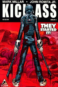 Cover of Kick-Ass comic third issue