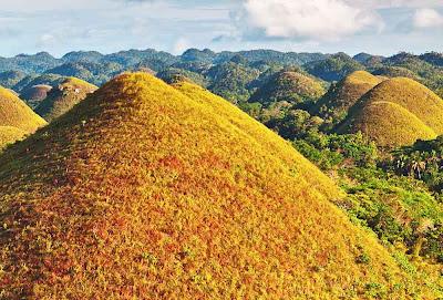 As colinas de chocolate – Filipinas
