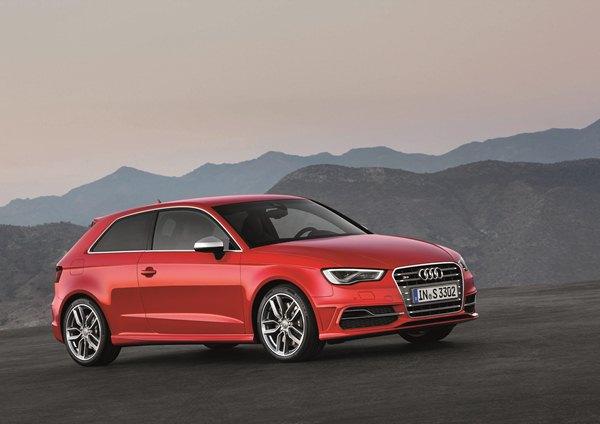 новый Audi S3 2012