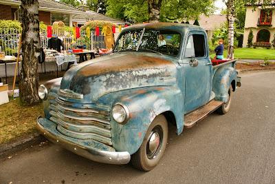 1952 Chevrolet 3100 pickup.