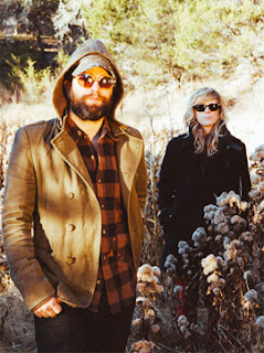 Alex Maas and Stephanie Bailey of The Black Angels