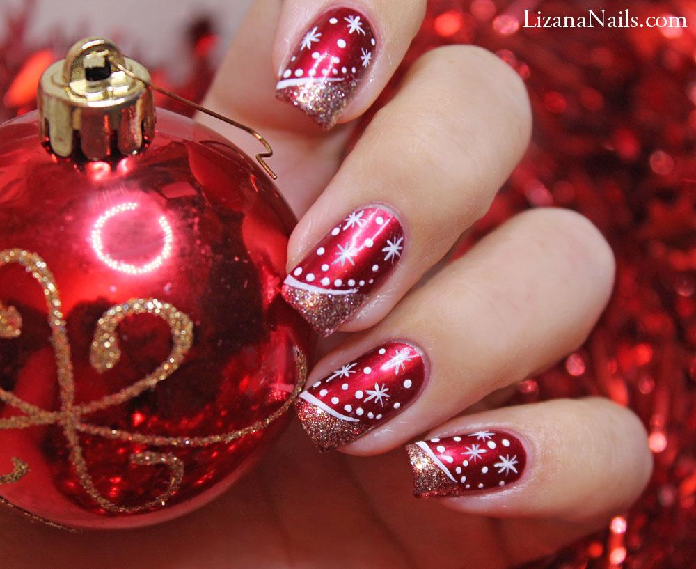 In Moda For Me: Uñas decoradas para navidad