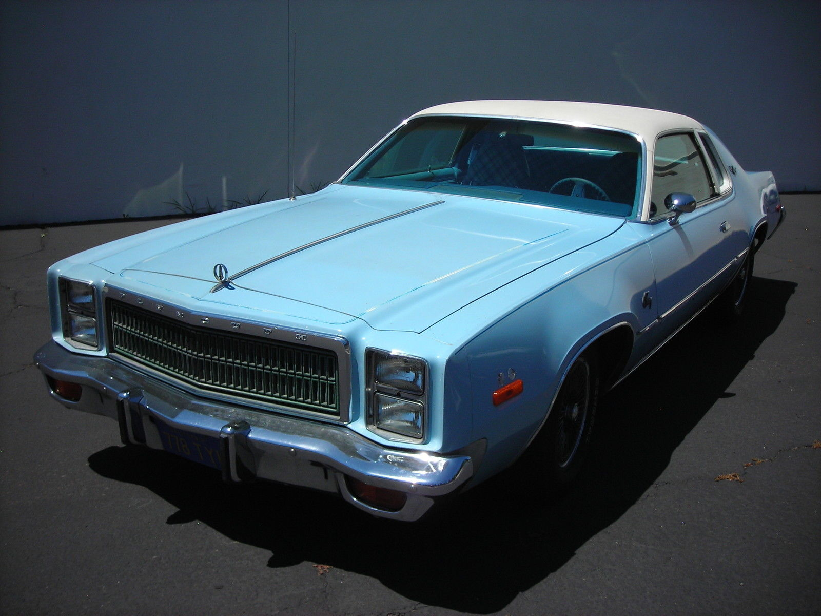 All american classic cars 1977 plymouth fury sport 2 door for Door 2 door cars