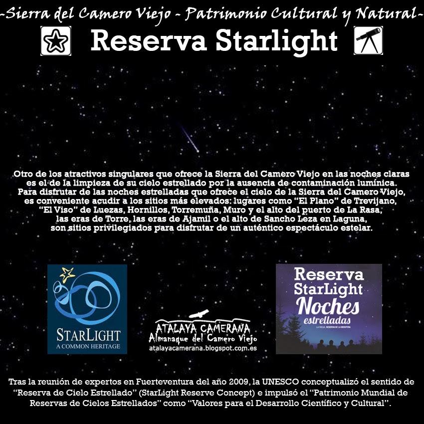Sierra del Camero Viejo - Valle del Leza. Patrimonio Cultural y Natural. Cielo Estrellado. Reserva Starlight..