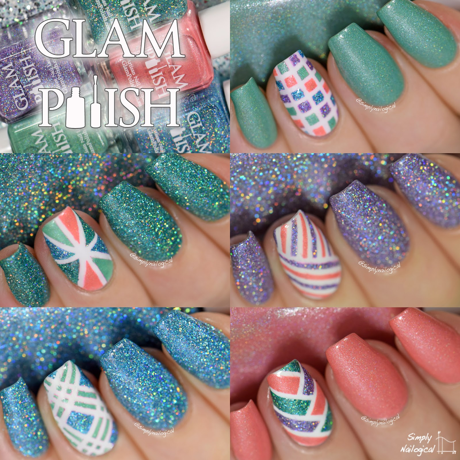 Glam Polish December 2014 swatches