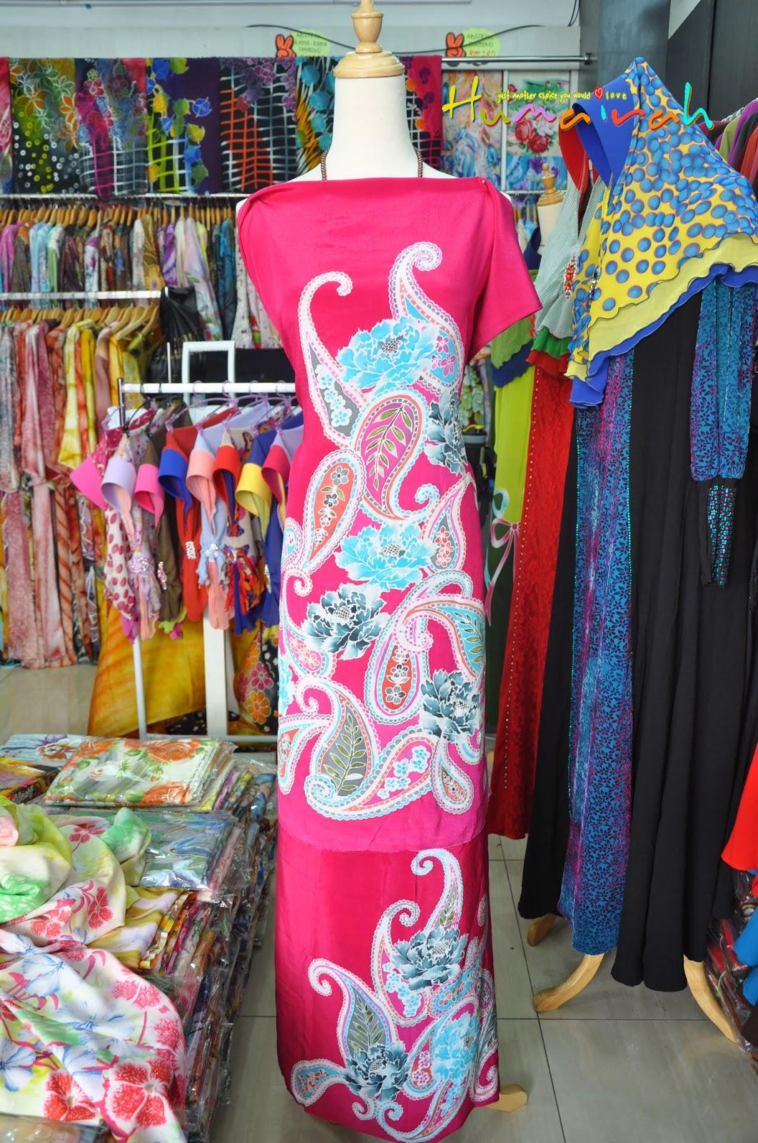 CX78 - Batik Sutera Handmade Exclusive Paisley Pink 3