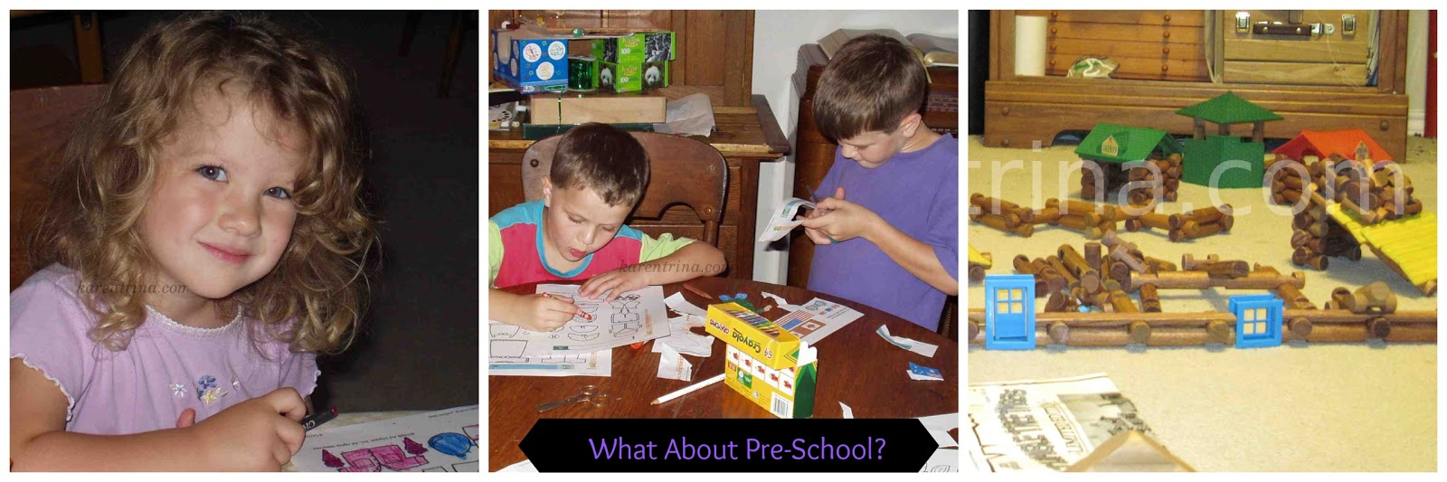 preschool activities, paper dolls