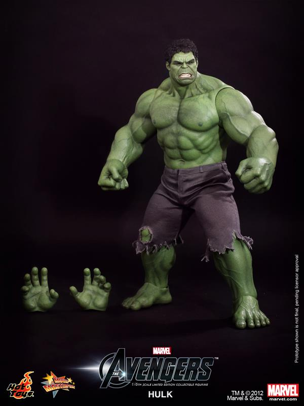 NEWS  Hot Toys Marvel s The Avengers HulkThe Avengers Hulk Toys