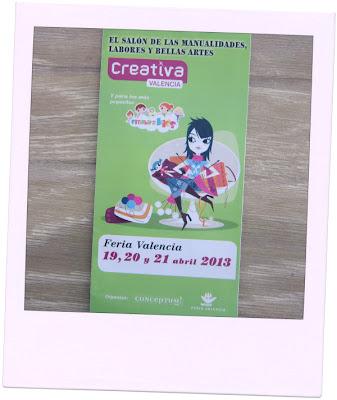 Entrada Feria Manualidades Creativa Valencia