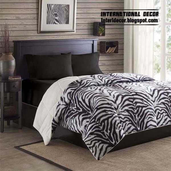 zebra print decorating ideas - Zebra Bedroom Decorating Ideas