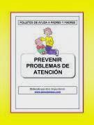 Folleto: Prevenir problemas de atención