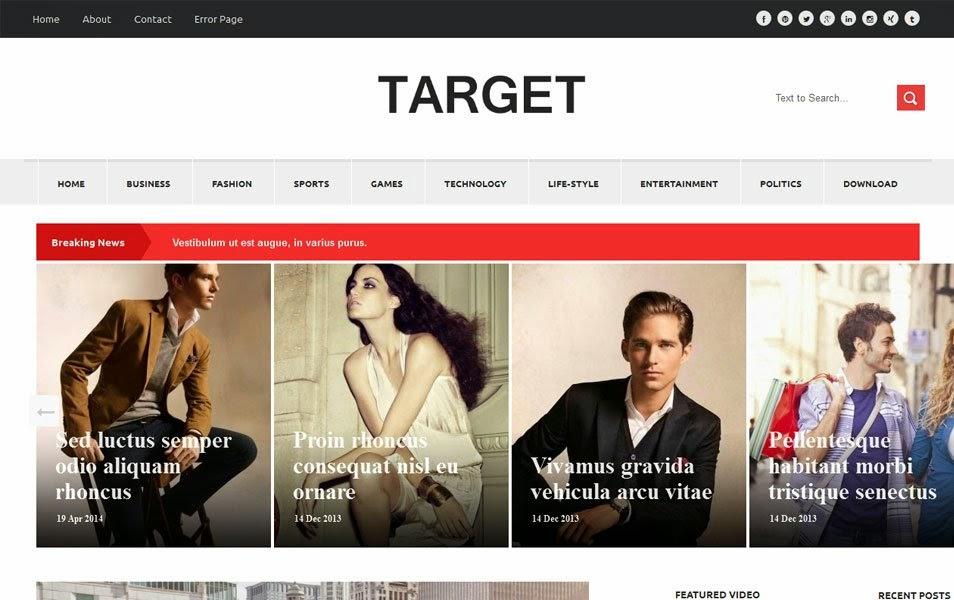 Template Blogger Target Yang Responsive