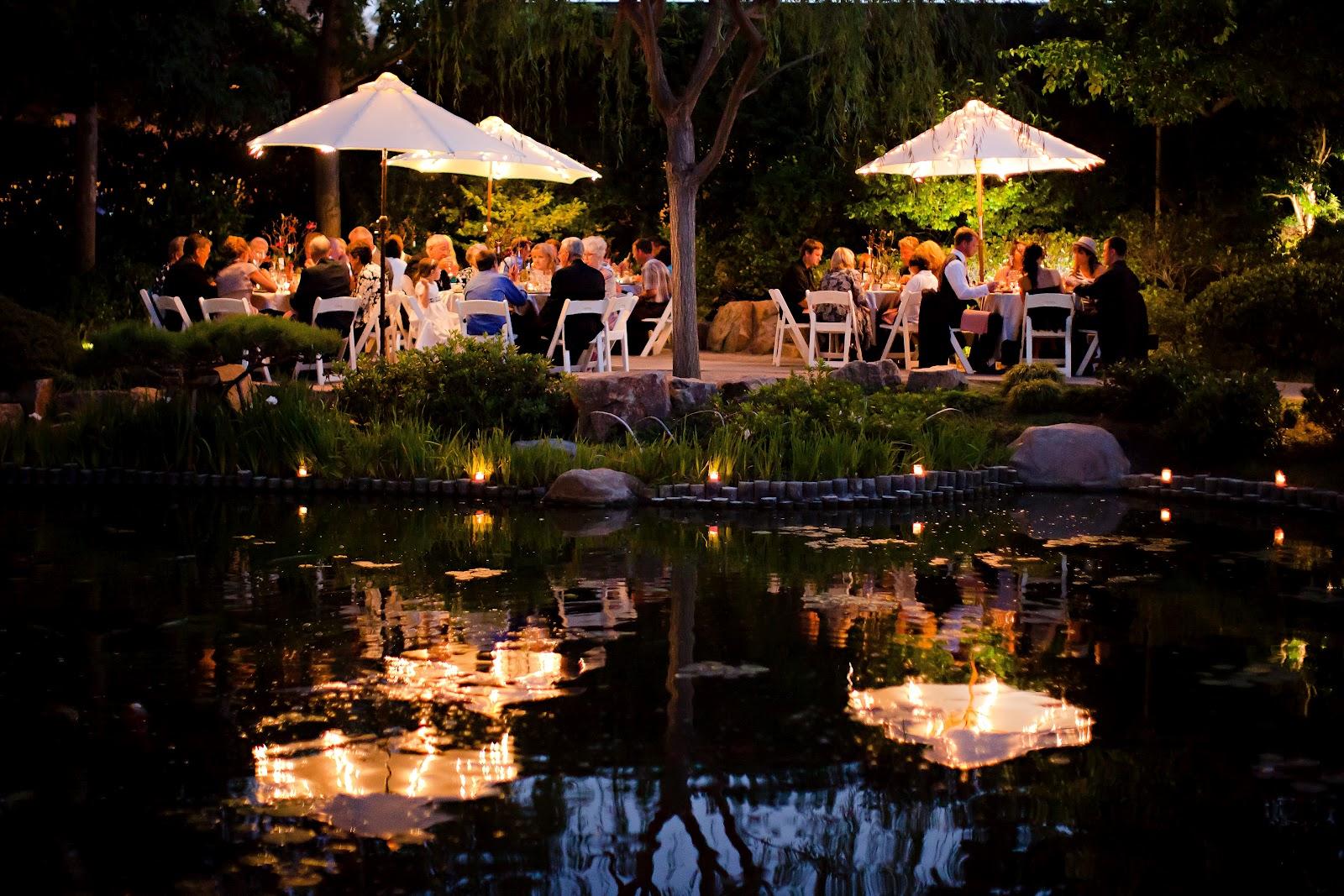 Choura events japanese garden wedding for Japanese themed garden