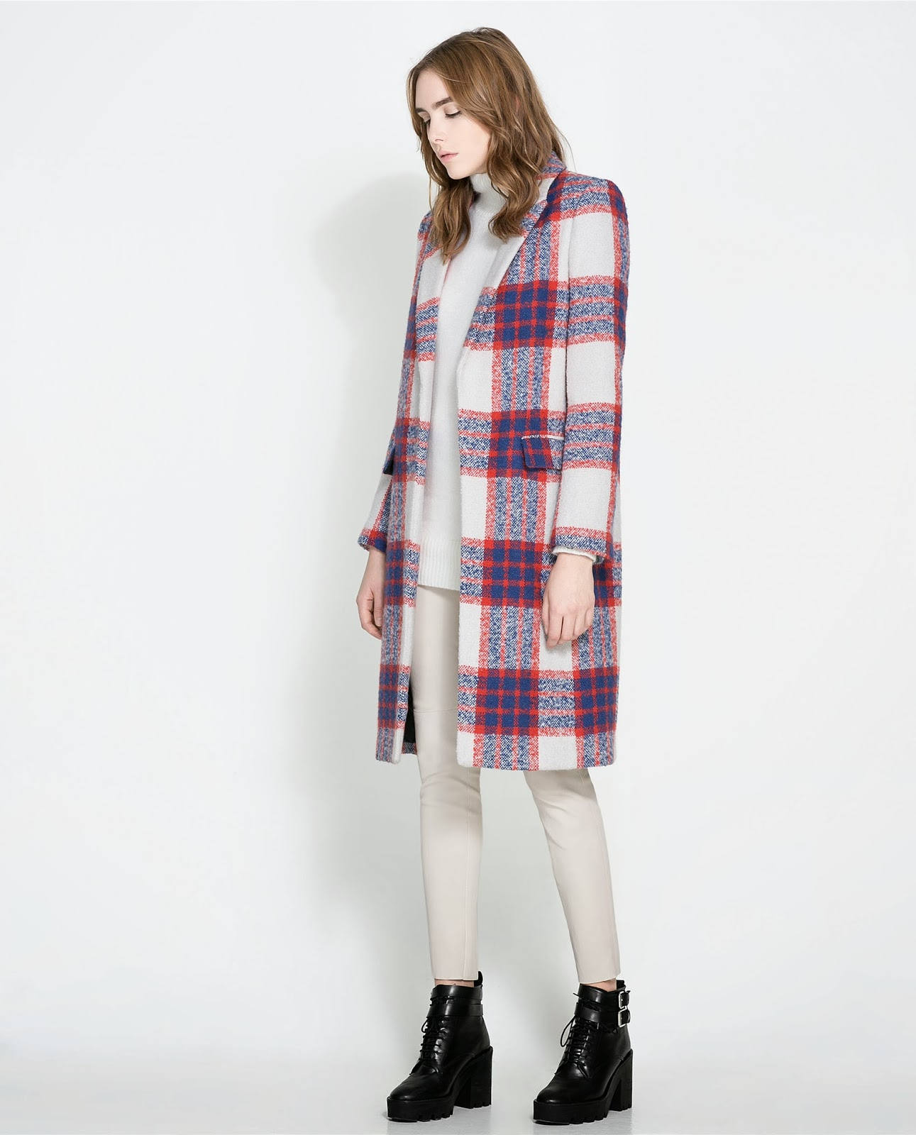 2013 Fall Plaid Trend Coats