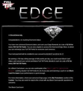 Full Tilt Poker EDGE DIAMOND