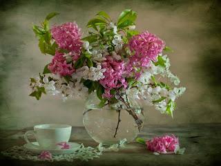 ramo de flores para desayuno