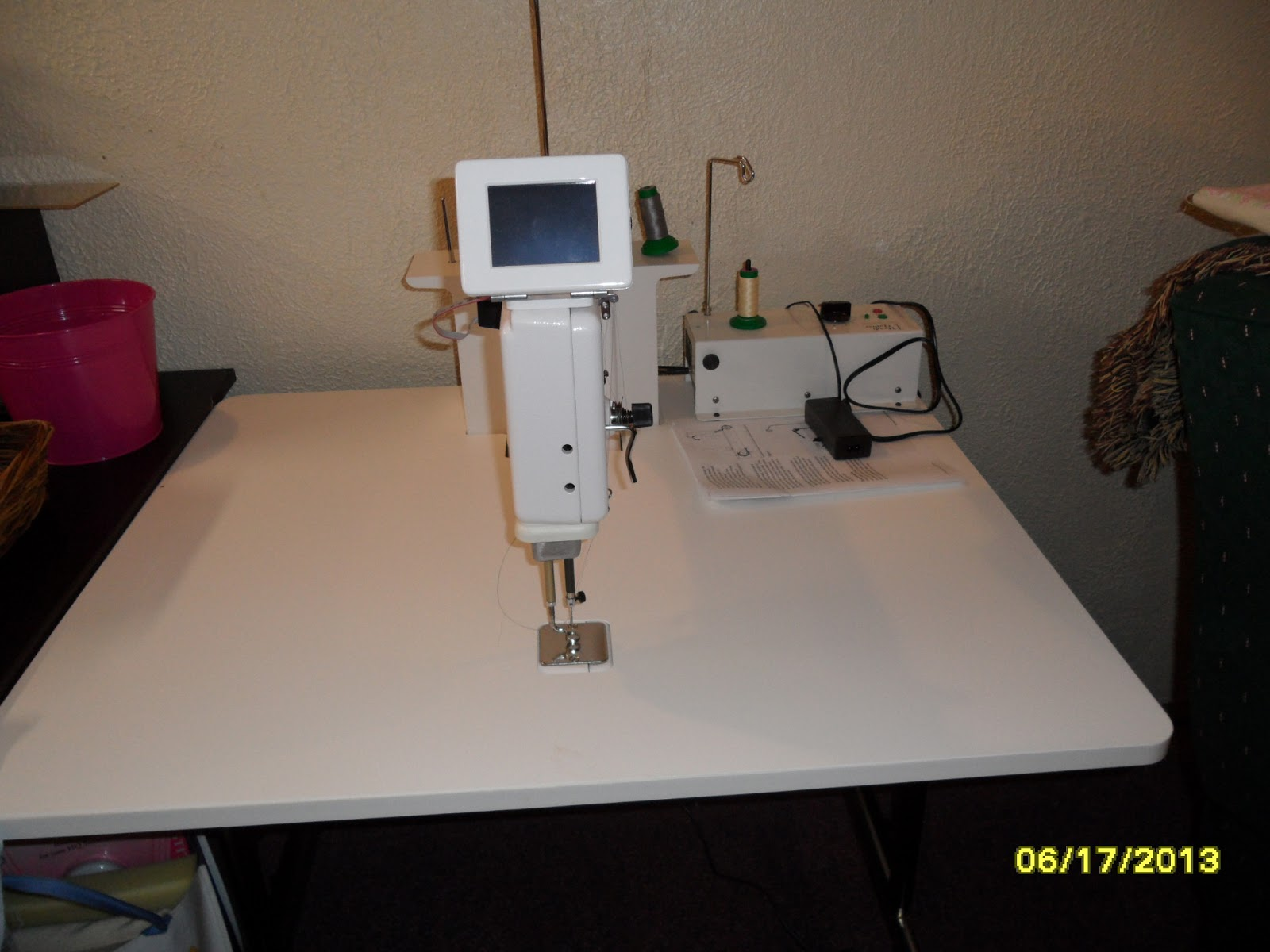 mid arm quilting machine