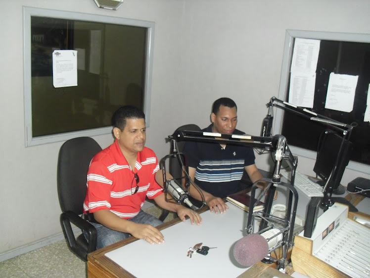 El Presidente De La Camara De Comercio Visita Programa D´Noticias de Alfredo Acosta