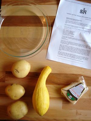 My Big Green Cookbook: Herbed Summer Squash and Potato Torte