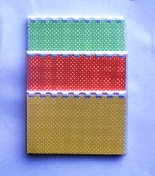 3 Colorful Polka Dot Recipe books $17.99