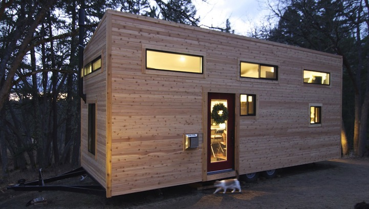 hOMe a Modern Tiny House in Oregon TINY HOUSE TOWN