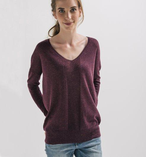 http://www.promod.es/mujer/jerseys---chaquetas/jerseys-manga-larga/jersey-brillante-cuello-v-coral-R4220001075.html#