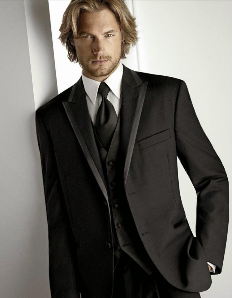 Men\'s Tuxedo Wedding Suit Ideas
