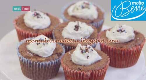 Muffin con muesli e gocce di cioccolato ricetta Parodi per Molto Bene