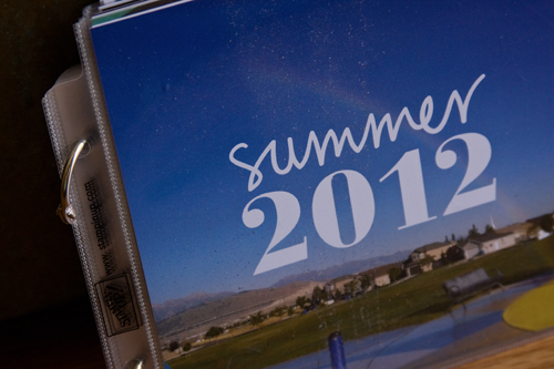 MDS Blog Hop: Summer Goals Album