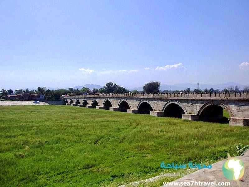 جسر ماركو بولو التاريخي في بكين