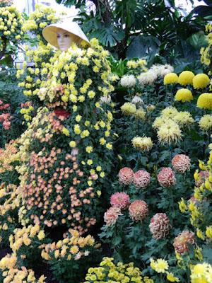 2015 Allan Gardens Conservatory Chrysanthemum Show mannequin by garden muses-not another Toronto gardening blog