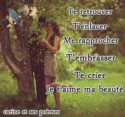 poèmes d'amour avec image romantique