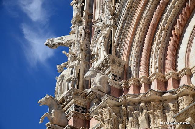 Sienne - cathédrale - façade