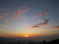 sunset at Mt. Kalisungan, view of Mt. Makiling at Mt. Kalisungan, Mt. Kalisungan Calauan Laguna, mt kalisungan laguna, mt kalisungan trail, mt kalisungan calauan, mt nagcarlan laguna, mt kalisungan view
