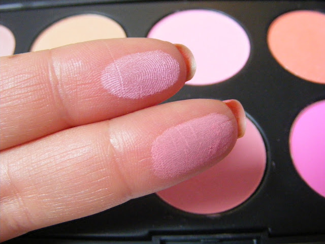 A picture of the eBay blush palette