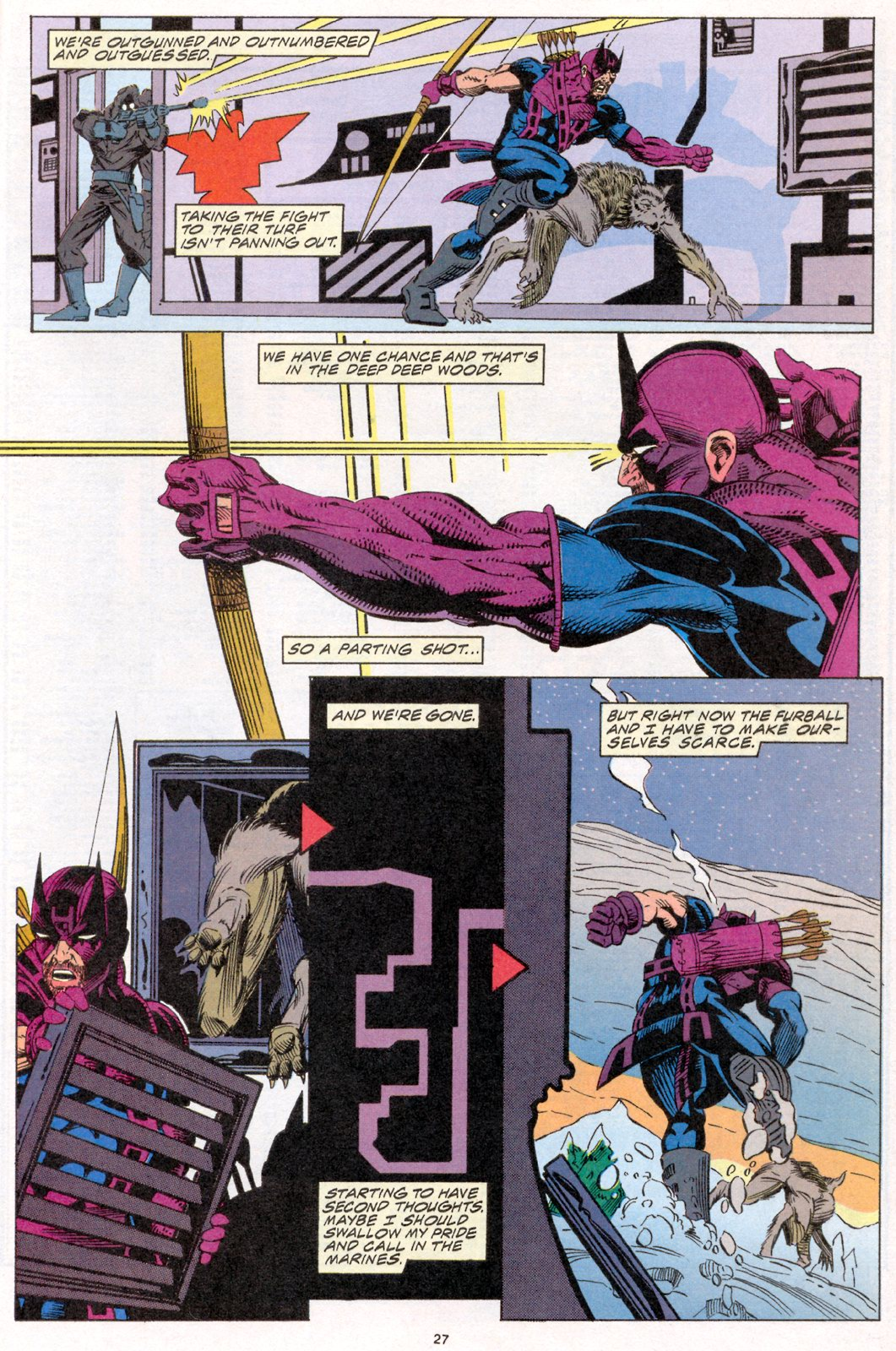 Hawkeye (1994) Issue #2 #2 - English 20