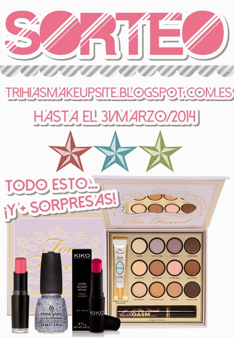 Sorteo en Trihias Make Up Site