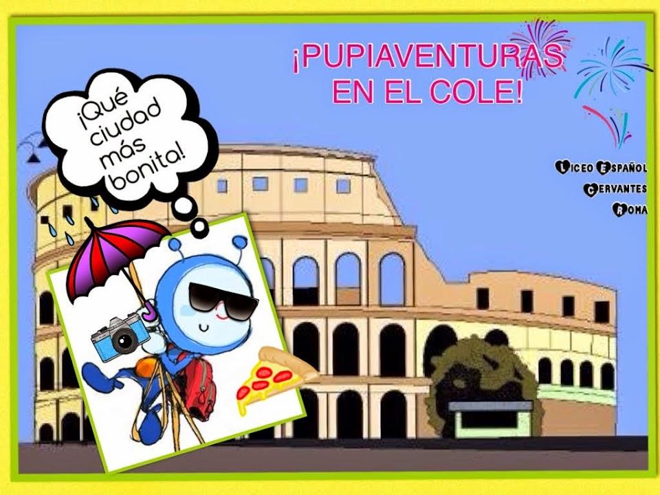PUPIAVENTURAS EN EL COLE