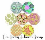 The Inchy Hexagon Flower Swap