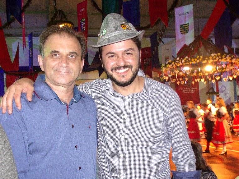 Airton Engster dos Santos e Catarina Paladini