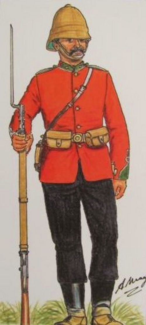 1st and 2nd Battalions, 24th (2nd Warwickshire) Regiment Foot picture 6