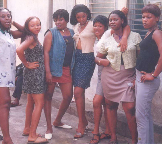Check Out Omotola's Throw Back Photo When She Acted As A Prostitute! She looks so young and less aged!!