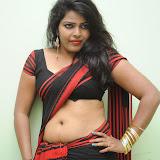 Sitara Hot Photos in Saree at Gundello Guchi Guchi Champake Movie Press Meet 4