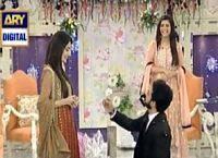 How Bilal Qureshi Proposed His Wife Uroosa Qureshi In Morning Show?