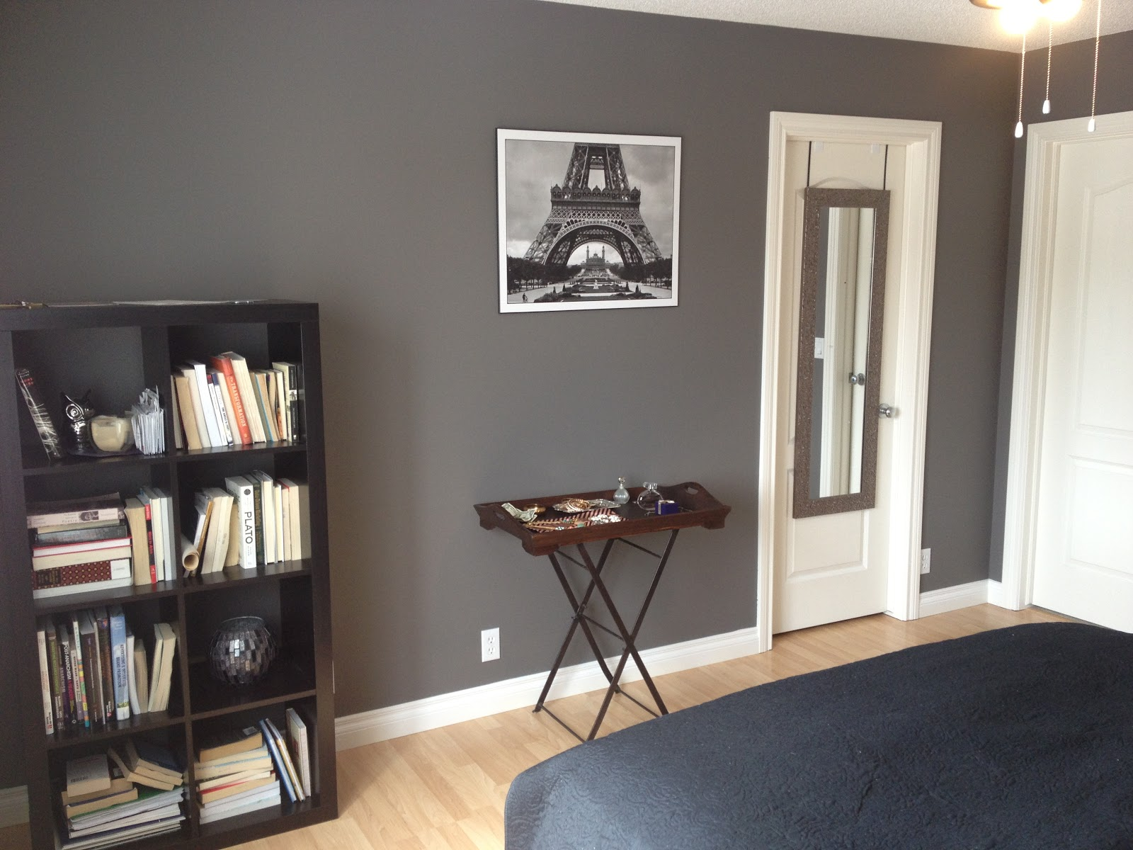 Behr mocha and living rooms on pinterest for Living room accent wall