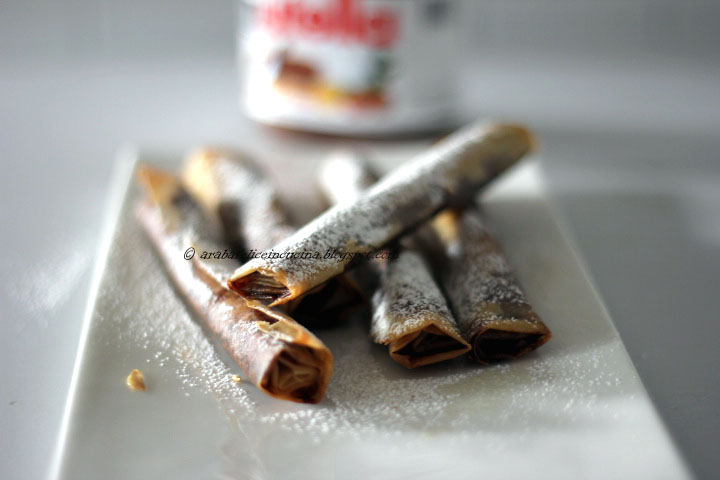 Ricette pasta fillo con nutella