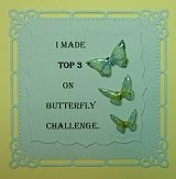 The Butterfly Challenge Top 3