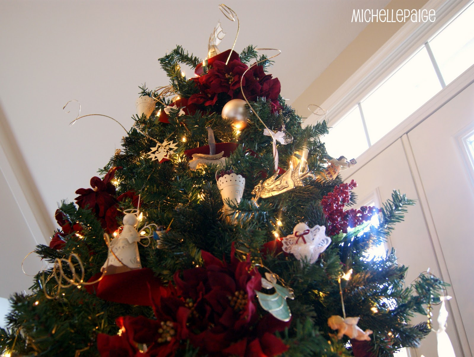 Michelle paige blogs decorating artificial trees for Artificial cranberries for decoration